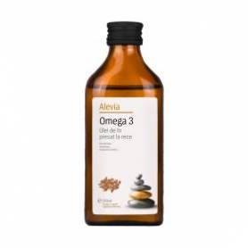 Omega 3 Ulei de In presat la rece 250ml - Alevia