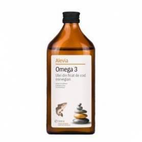 Omega 3 Ulei din ficat de cod norvegian 500ml - Alevia