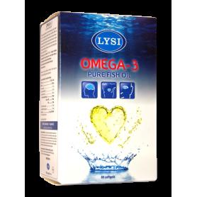 OMEGA 3 - ulei pur de peste 500mg 80cps - LYSI