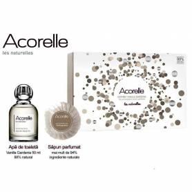 Set cadou VANILLA GARDENIA Parfum 50ml + sapun 100g - Acorelle