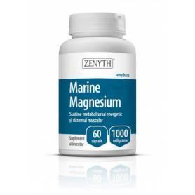 Magneziu marin - Marine Magnesium 1000mg 60cps Zenyth