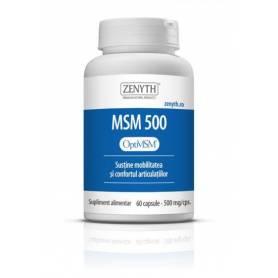 MSM 500mg 60cps - Zenyth