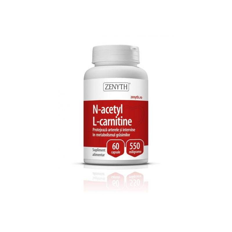 N-Acetyl L-Carnitine 550mg 60cps - Zenyth