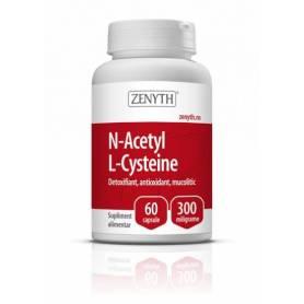 N-Acetyl L-Cysteine 300mg 60cps - Zenyth