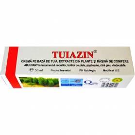 Tuiazin - crema cu extract de tuia 50ml - ELZIN PLANT