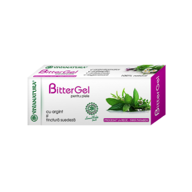 BitterGel - Gel tinctura suedeza si Ag 20ml - Vivanatura