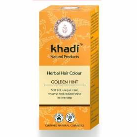 Henna Blond Auriu - Vopsea de par naturala - Khadi