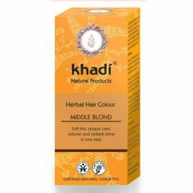 Henna Blond Mediu - Vopsea de par naturala - Khadi