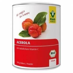 Acerola pulbere, eco-bio, 100g - Raab