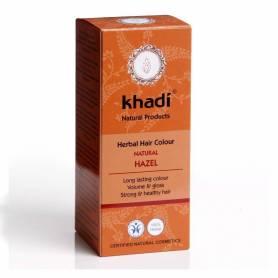 Henna Saten Nuca - Vopsea de par naturala 100g - Khadi