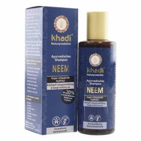 Sampon antimatreata cu neem - 210ml - Khadi