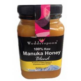 Miere MANUKA RAW - MIX - 500g - Wedderspoon