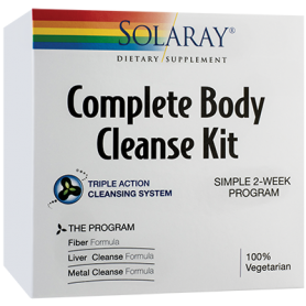 COMPLETE BODY CLEANSE KIT - Solaray - Secom