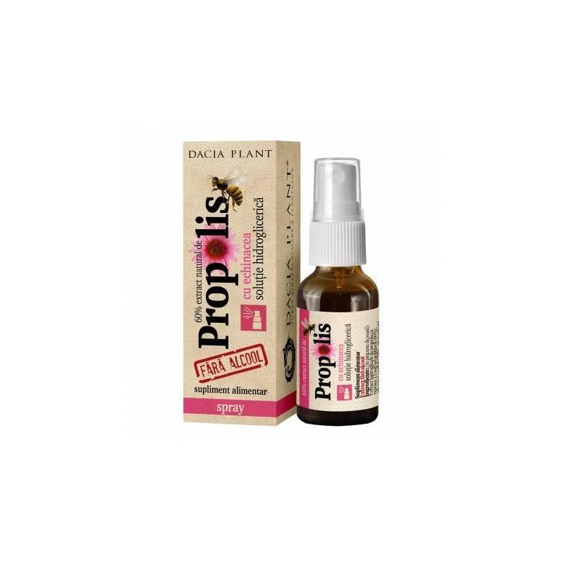 Propolis cu Echinacea fara alcool - 20ml spray - Dacia Plant
