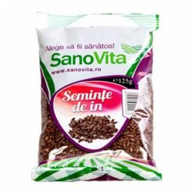 Seminte de in 125g - SANOVITA