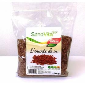 Seminte de in 300g - SANOVITA