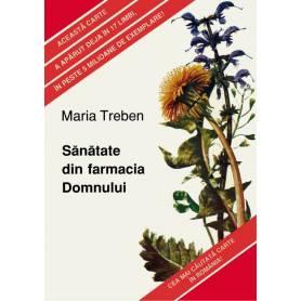 Sanatate din farmacia Domnului -  carte - Maria Treben