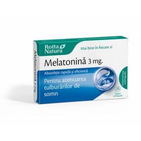 Melatonina 3mg, 30cpr - Rotta Natura