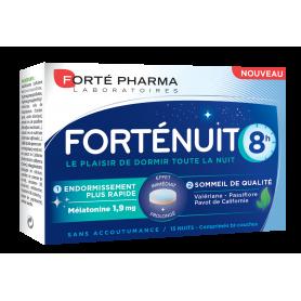 FORTE NUIT 8 ore, 15 comprimante, Forte Pharma