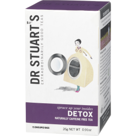 Ceai DETOX ,15plicuri - Dr. Stuarts