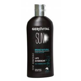 Lapte autobronzant 200ml - Gerovital Sun
