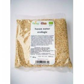 Seminte de susan natur nedecorticate 250g - ECO-BIO - PETRAS