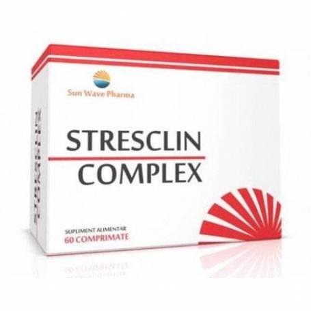 Stresclin Complex 60cps - Sun Wave Pharma