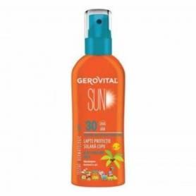 Lapte protectie solara copii SPF 30 150ml - Gerovital Sun