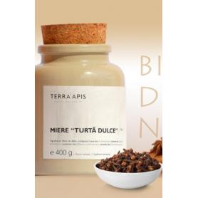 Miere turta dulce No. 1 - 400g - TERRA APIS