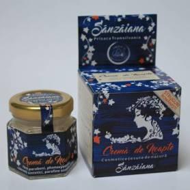 "Crema de Noapte ""Sanzaiana"" 40ml - Prisaca"