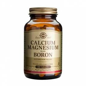 Calcium magnesium + Boron 100cps - SOLGAR