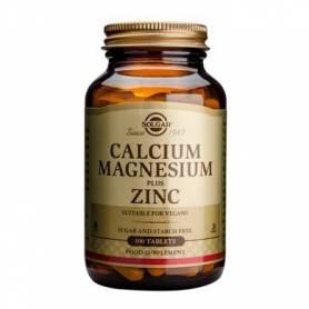 Calcium magnesium + Zinc 100cps - SOLGAR