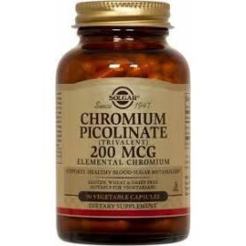 Chromium picolinate 200mg 90cps  - SOLGAR