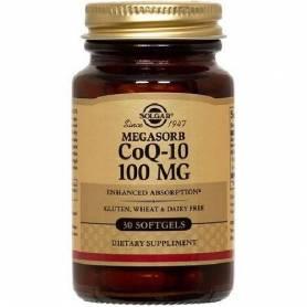 Coenzyme Q-10 - 100mg 30cps SOLGAR