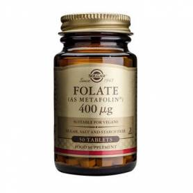 Folate - As metafolin - 400mg 50cps - SOLGAR
