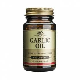 Garlic oil 100cps - SOLGAR