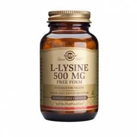 L-lysine 500mg 50cps - SOLGAR