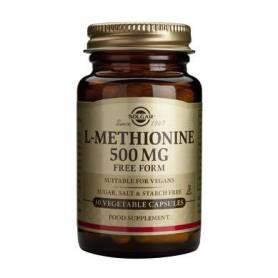 L-Methionine 500mg 30cps - SOLGAR