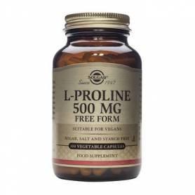 L-Proline 500mg 100cps - SOLGAR