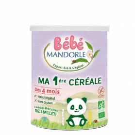 Cereale pentru bebeluși - de la 4 luni 400g eco-bio Bébé MANDORLE