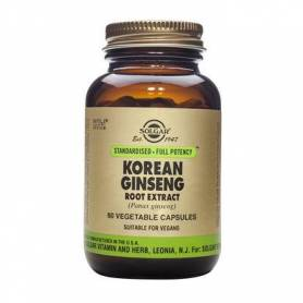 Korean Ginseng Root Extract 60cps - SOLGAR