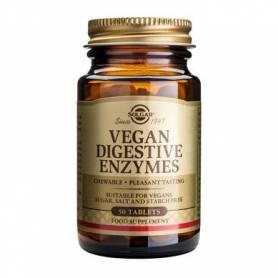 Vegan Digestive Enzymes 50cps - SOLGAR