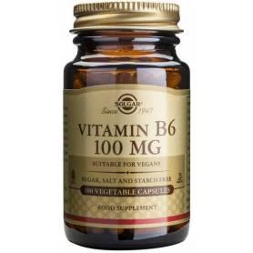 Vitamina B6 100mg 100cps - SOLGAR