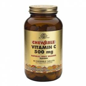 Vitamina C 500mg Orange 90cps - SOLGAR