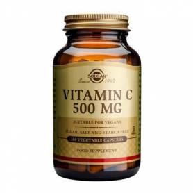 Vitamina C 500mg 100 cps - SOLGAR