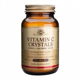 Vitamina C Crystals 125g - SOLGAR