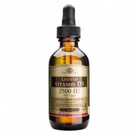 Vitamina D3 2500IU lichid 59ml  - SOLGAR