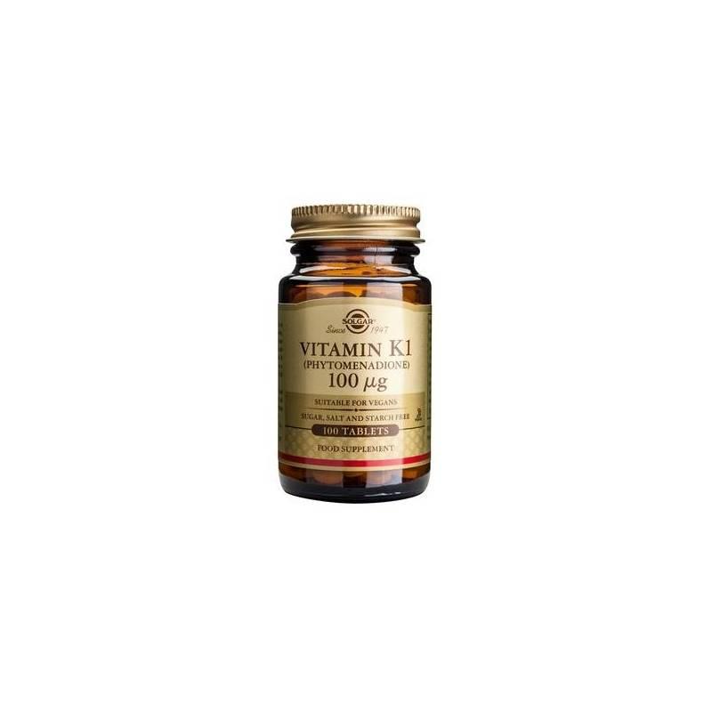 Vitamina K1 100mg 100cps - SOLGAR