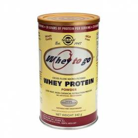 Whey to go protein vanilla 340g - SOLGAR
