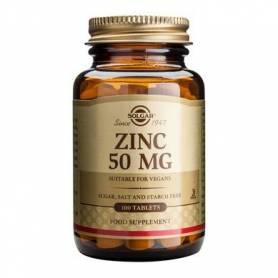 Zinc gluconate 50mg 100cps - SOLGAR